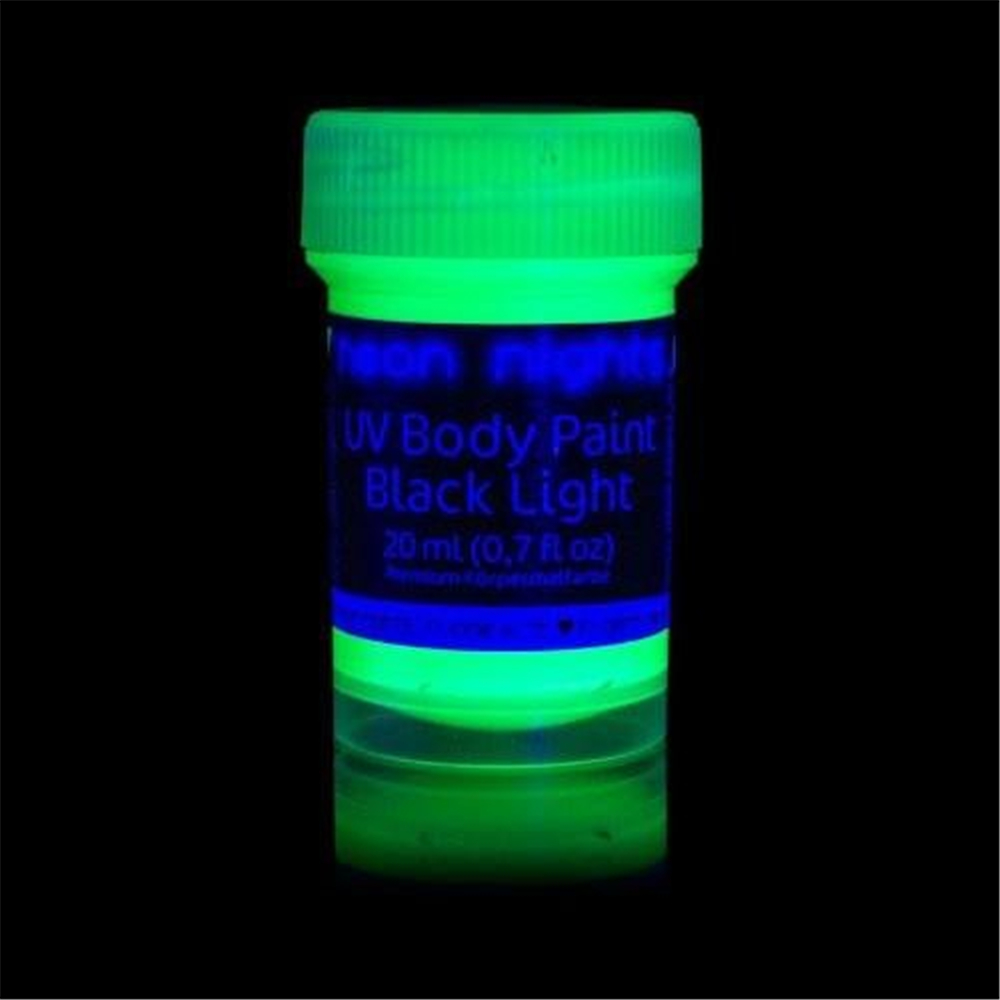 Glow In The Dark Paint 3 38 Fl Oz Yellow Green Sky Blue Phospscent Self Luminous Neon Afterglow Color Luminescent