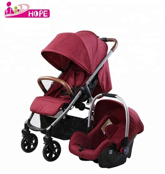 European Baby Stroller with Steel Frame