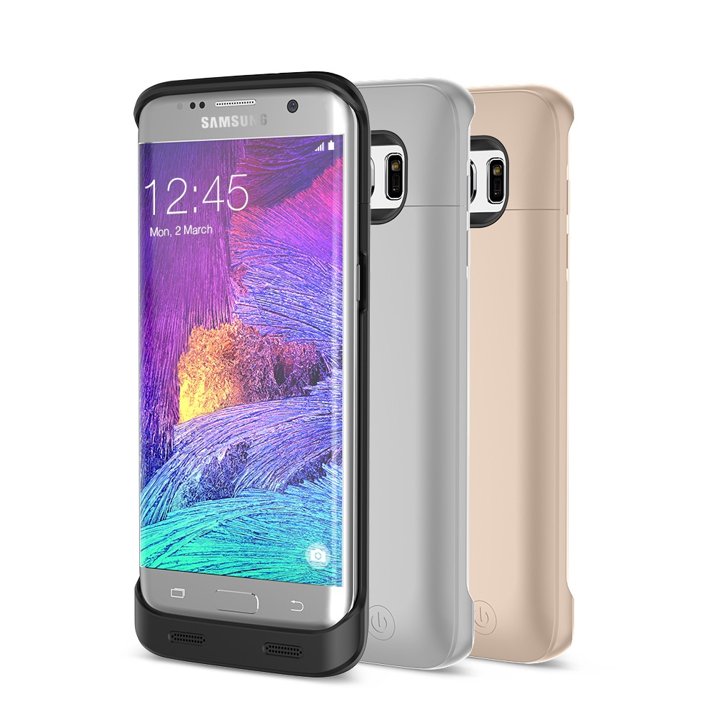 Phone case with power bank, power bank case for Samsung Galaxy S7 edge
