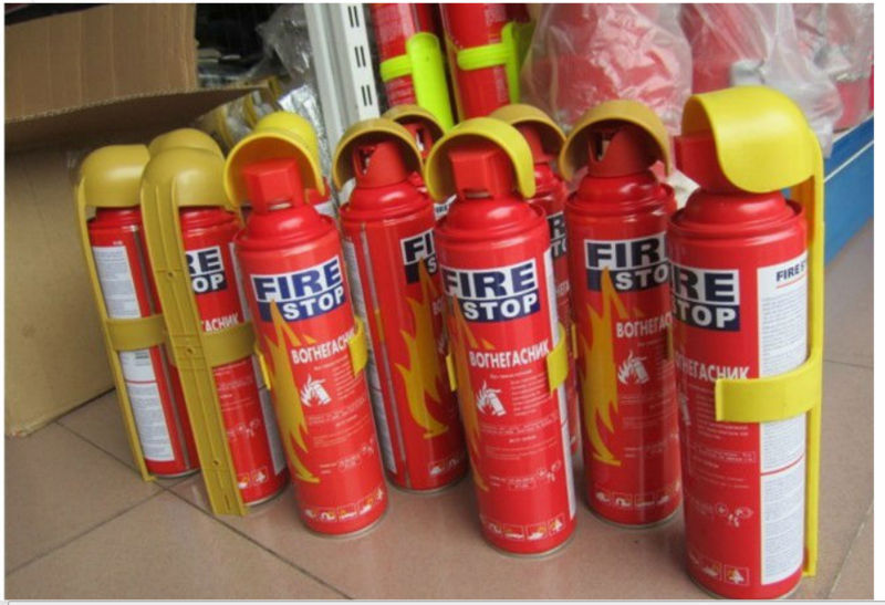 How To Make A Fire Extinguisher Spray Paint