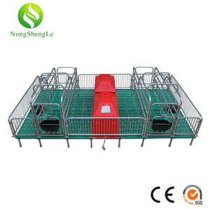 2.75 thickness pipe farrowing crate Top quality pig weaning fatten crate weaner piglets nursery crate