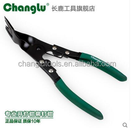 Vehicle tools Trim Clip Removal Pliers green color