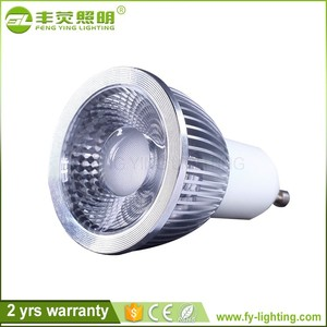CE approved Customized 12v 24v gu5.3 gu10 5w mr16 led spot light