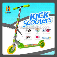 Cheap Colorful 2 Wheel Folding and Adjustable Kick Scooter (EN71 Approved)