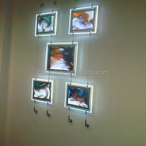 Acrylic Led Crystal Light Frame Hanging