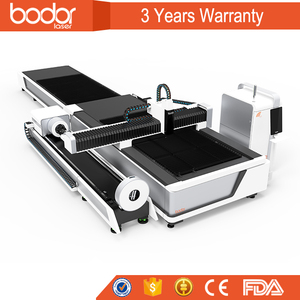bodor Laser cutting pipes metal machine cutting stainless sheet with good performance 3 years warranty