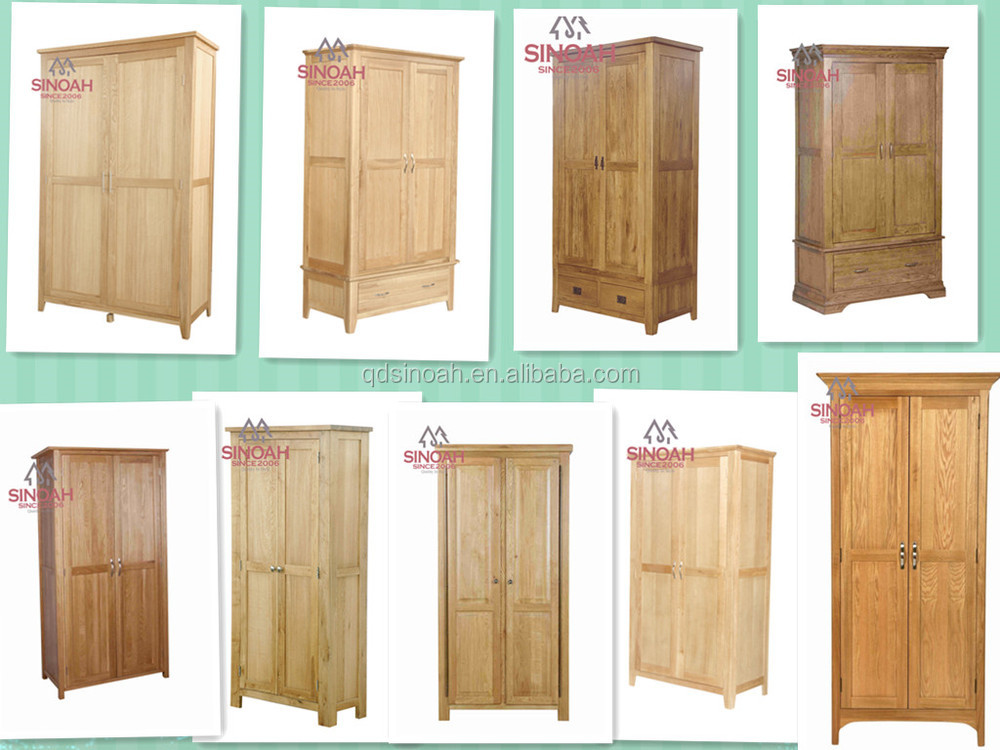 High Quality Modern Wardrobe Cheap Birch Wood White Bedroom Furniture