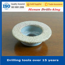 vacuum brazed high quality rotary tool diamond cutting wheel for quartz stone grinding