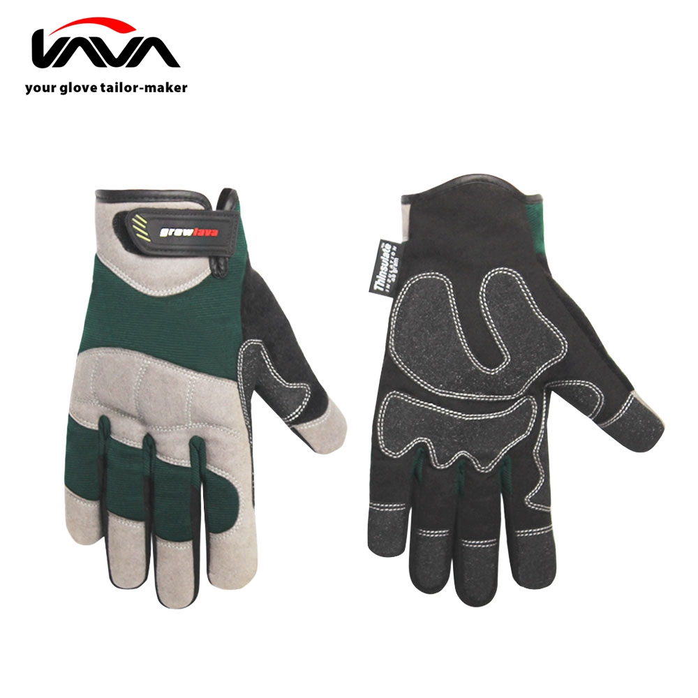 High Quality PVC Overlay with MTM Thinsulate C40 Winter Work Gloves