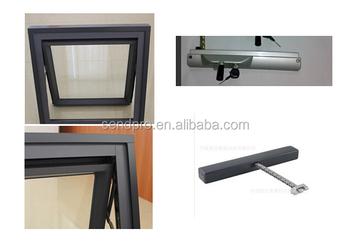 Chain Drive Window Aluminum Awning Window Aluminum Double