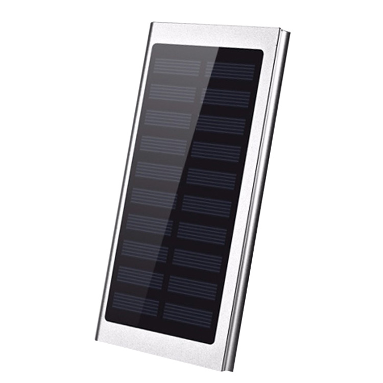 Portable slim Solar battery bank