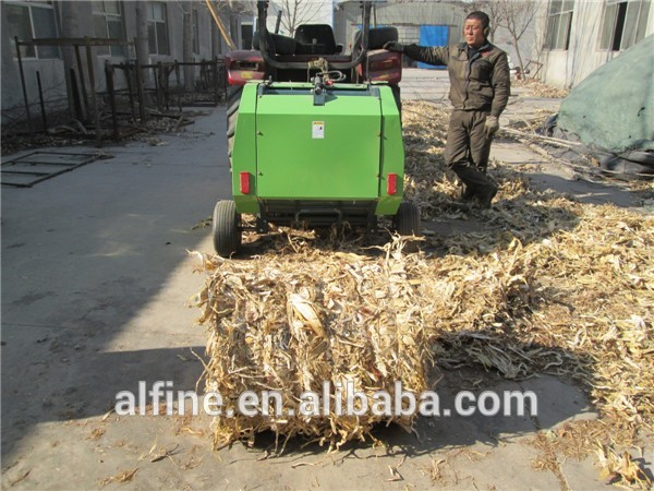 Made in China tractor mounted round baler and wrapper