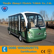 Zhongyi Brand off road 11 electric sightseeing bus for sale GD11-A11