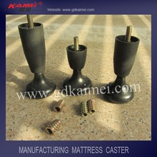 high quality furniture accessories plastic bed caster for bed