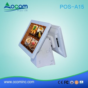 15 inch All in One Touch Screen POS System Used in Restaurant