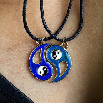Cheap change color yin yang necklace pendant mood necklace buy cheap change color yin yang necklace pendant mood necklace mozeypictures Image collections