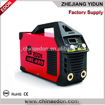 Portable DC MMA ARC Inverter welding machine plastic case edon