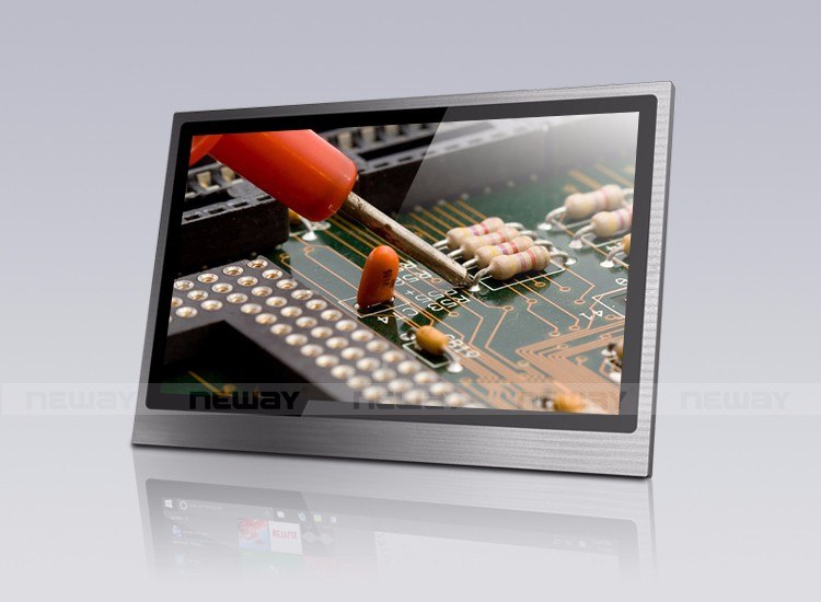 Multi-Touch Full HD IPS LCD Monitor For POS KIOSK ATM with Metal Housing and HD.MI VGA DVI AV Signal Input