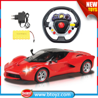 1:8 Scale Radio Control Steering Wheel Children Toy Car
