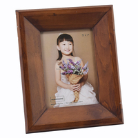3d deep solid color wooden shadow box photo frames