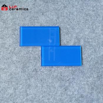 Dark Blue Gl Subway Tile 75x150