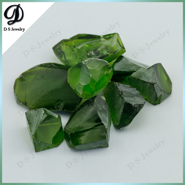 A60 Tourmaline Green Nanosital Uncut Rough Gemstones Price Per Carat