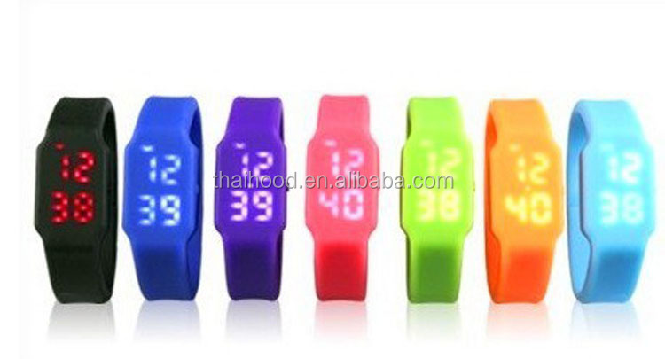 LED Watch silicon bracelet usb flash drive 512MB/1GB/2GB/4GB/8GB/16GB/32GB/64GB USB flash drive