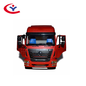 Chinese low price Second hand HOWO tractor truck trailer 6X4 tractor head trucks for Africa
