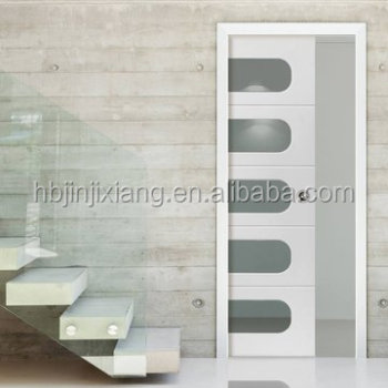 Interior Panel Glass Sliding Pocket Door
