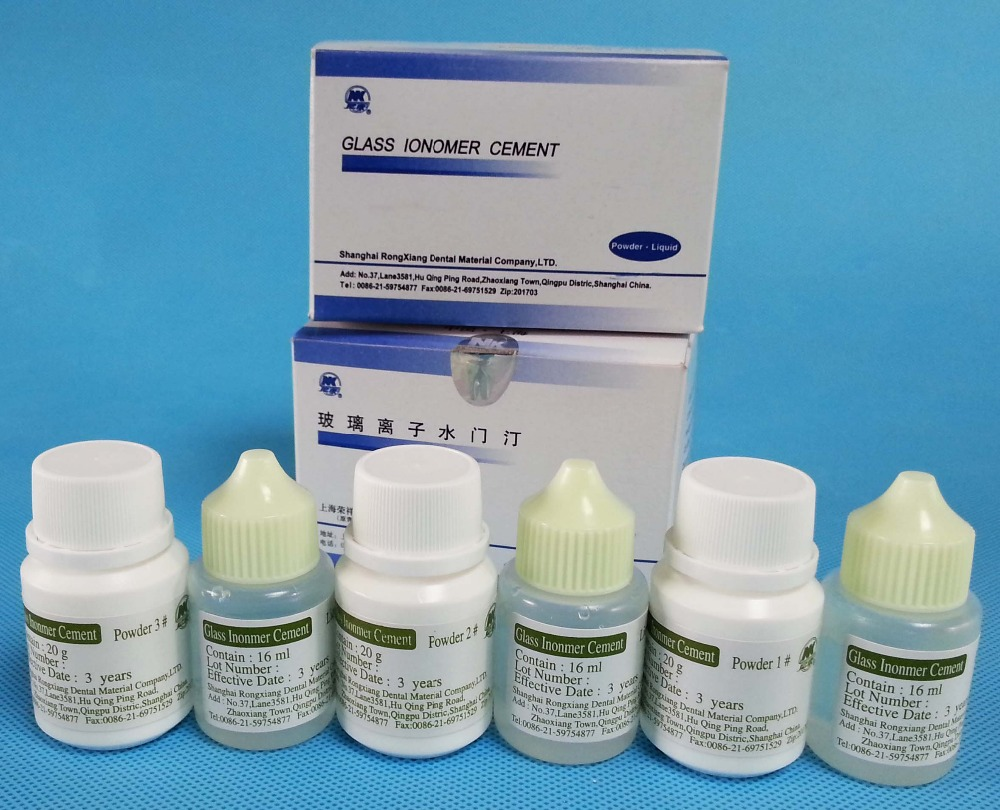 dentist medical supplies permanent Glass Ionomer Cement type 1
