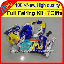 Body For HONDA Injection CBR250RR MC22 90-99 CBR 250RR Rothmans Blue 17CL11 CBR250 RR 90 91 92 93 94 95 96 97 98 99 Fairing