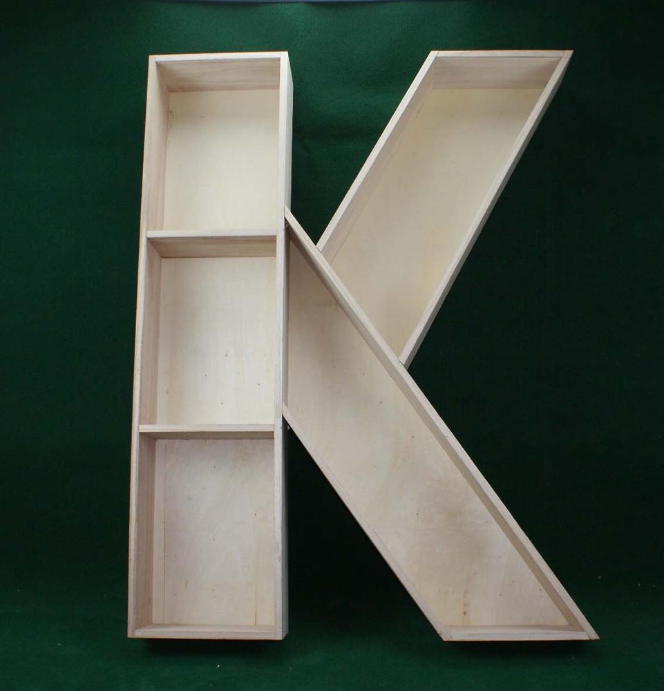 personalizada de fábrica pequeñas letras de madera para artesanías ...
