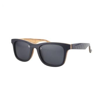 e5f59a4faa7 New Style Vinyl Wooden Bamboo Sunglasses cat 3 uv400 men women bicycle sport  sunglass