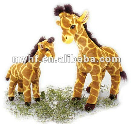 13inch 18inch 2 sitting size lovely plush stuffed giraffe