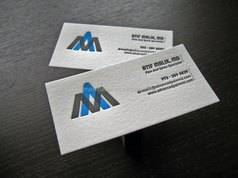 Aucun MOQ Chaud Feuille De Couleur Carte Visite Et Etiquette Volante Papier D