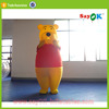 inflatable polar bear costumes cartoon characters animal toys air blower