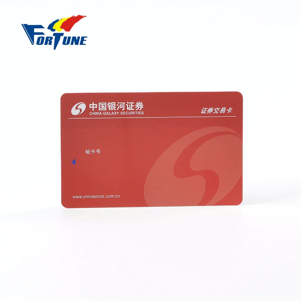 Custom Magnetic best price pvc plastic trading card for promotion