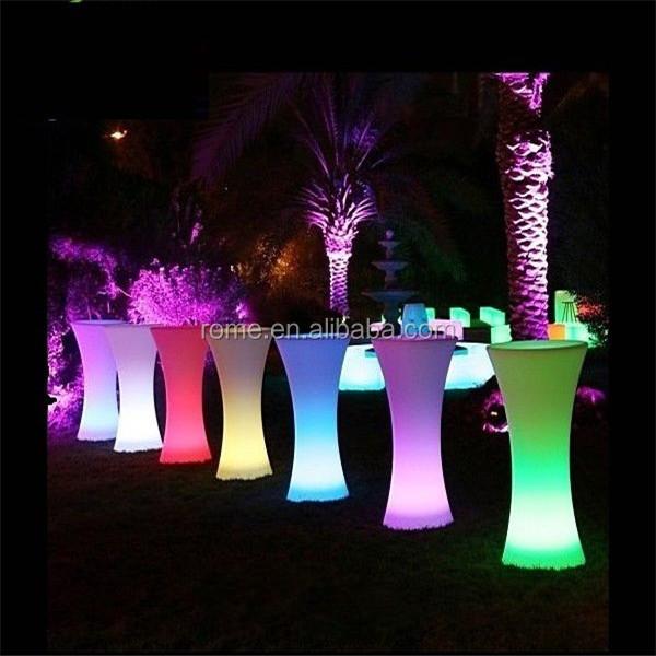 Light Up Bar Table / Illuminated Led Table/glowing Led Cocktail Table   Buy  Glowing Led Cocktail Table Product On Alibaba.com