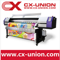 Best price T-shirt sublimation printing machine,Fabric digital inkjet printer UD1812LB