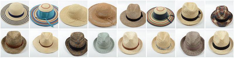 86c211e62f828b holiday travel beach packable shade sun visor cap beige straw hat. More  Designs for your reference: 3.Sample: