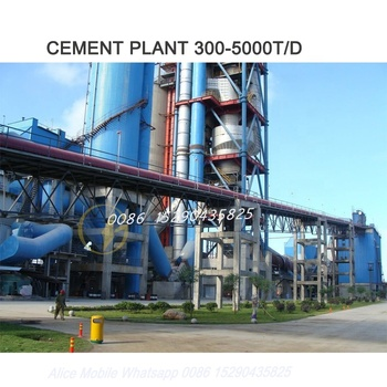 100tpd To 5000tpd cement plant For Sale Urganch agent Uzbekistan