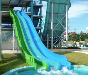 Amus Park Fiberglass Water Slide Material For Pool
