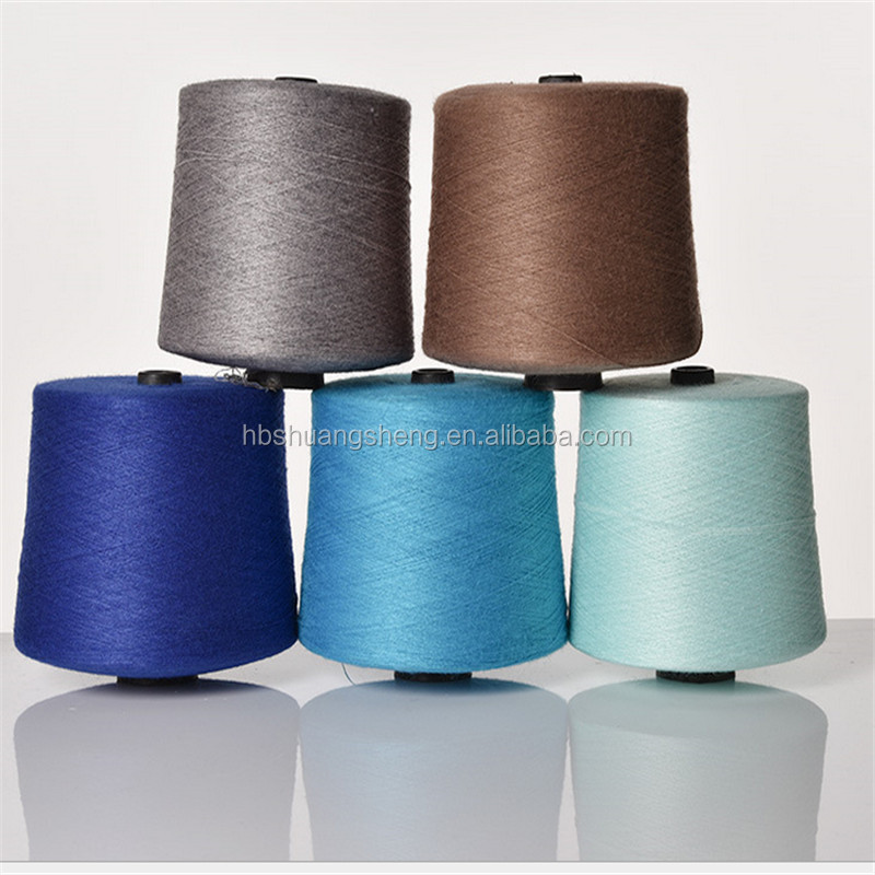 Factory Price NE 50/1 combed cotton yarn Ne50/2 for knitting white color or dyed color