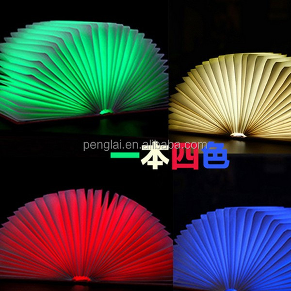 Wholesale China Factory LED Lumio Book Lamp colorfull rechargeable ...