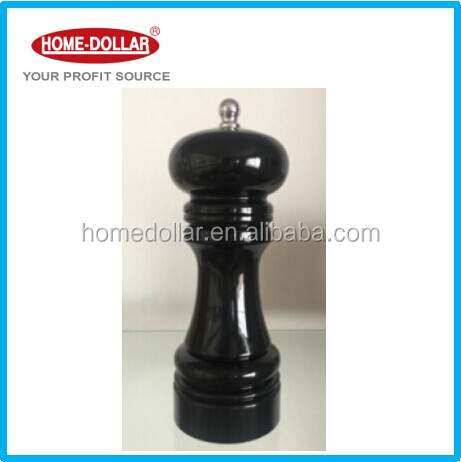 deluxe Plastic Salt and pepper mill with adjustable ceramic grinding gear