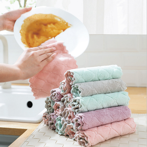 2019 hot kitchen dish towel wipes tablecloth cleaning cloth