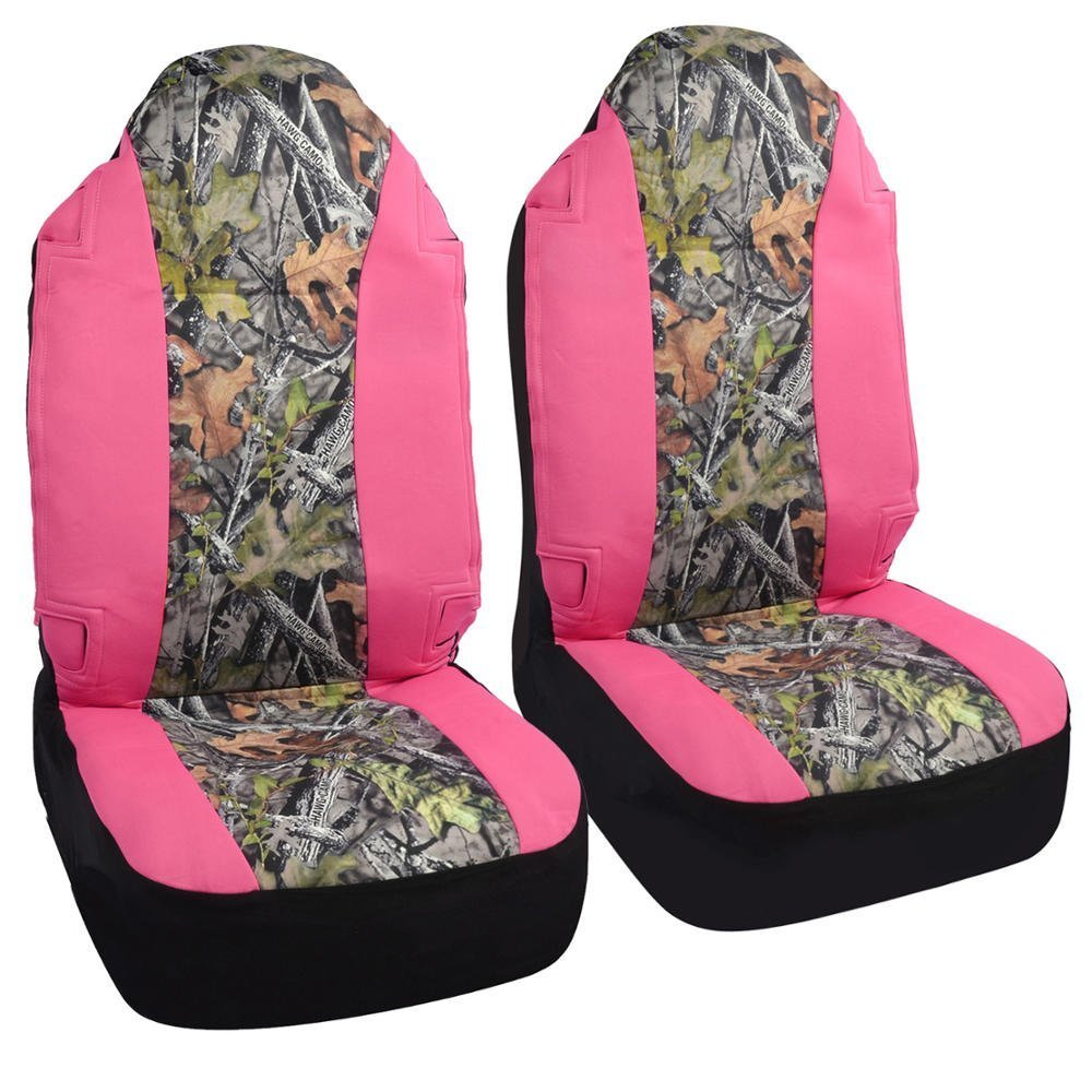 Get Quotations CarsCover Real Pink Camo Seat Covers Maple Forest Tree Leaf Pattern Camouflage For Auto Truck Car