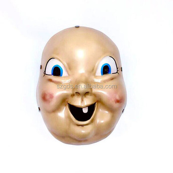 2018 High Grade Happy Death Day Mask Horror Movie Cosplay Mask Replica  Props For Halloween China , Buy Happy Death Day Mask,Movie Cosplay
