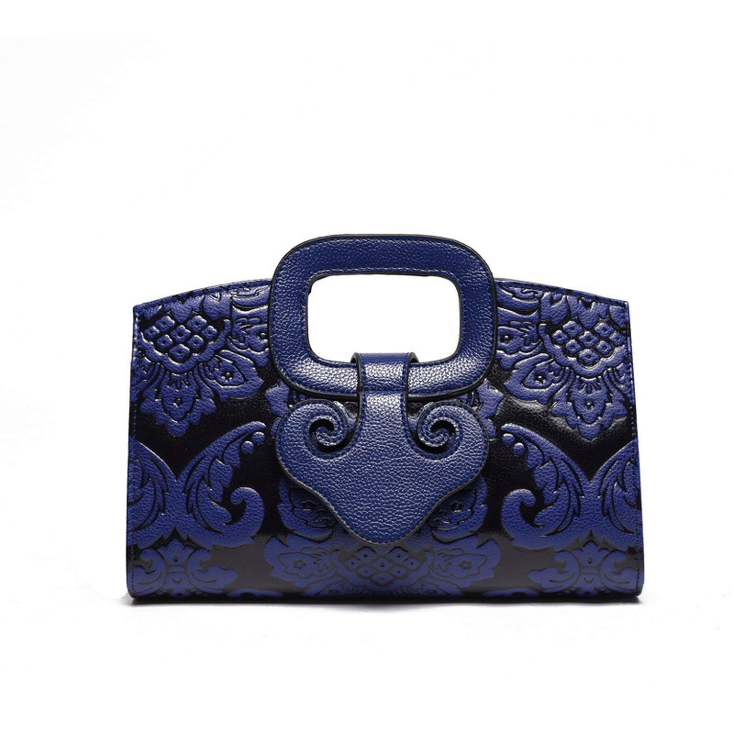 leather Vintage bag Embossing bags Designer Floral print handbag luxury  handbag bolsa e992a4527a8b1