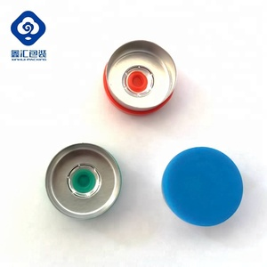 32 mm vial flip off crimp seal aluminium caps for infusion bottles
